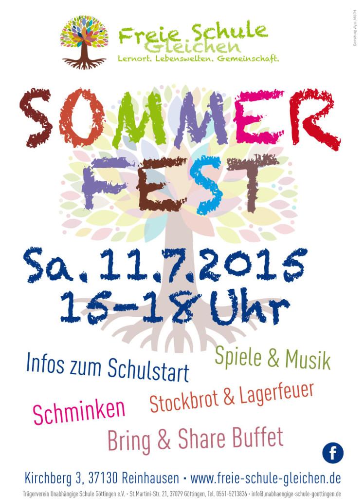 Sommerfest Freie Schule Gleichen 2015