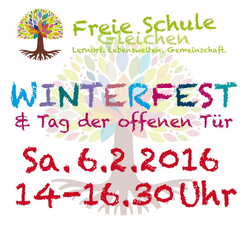 Winterfest 2016 Freie Schule Gleichen