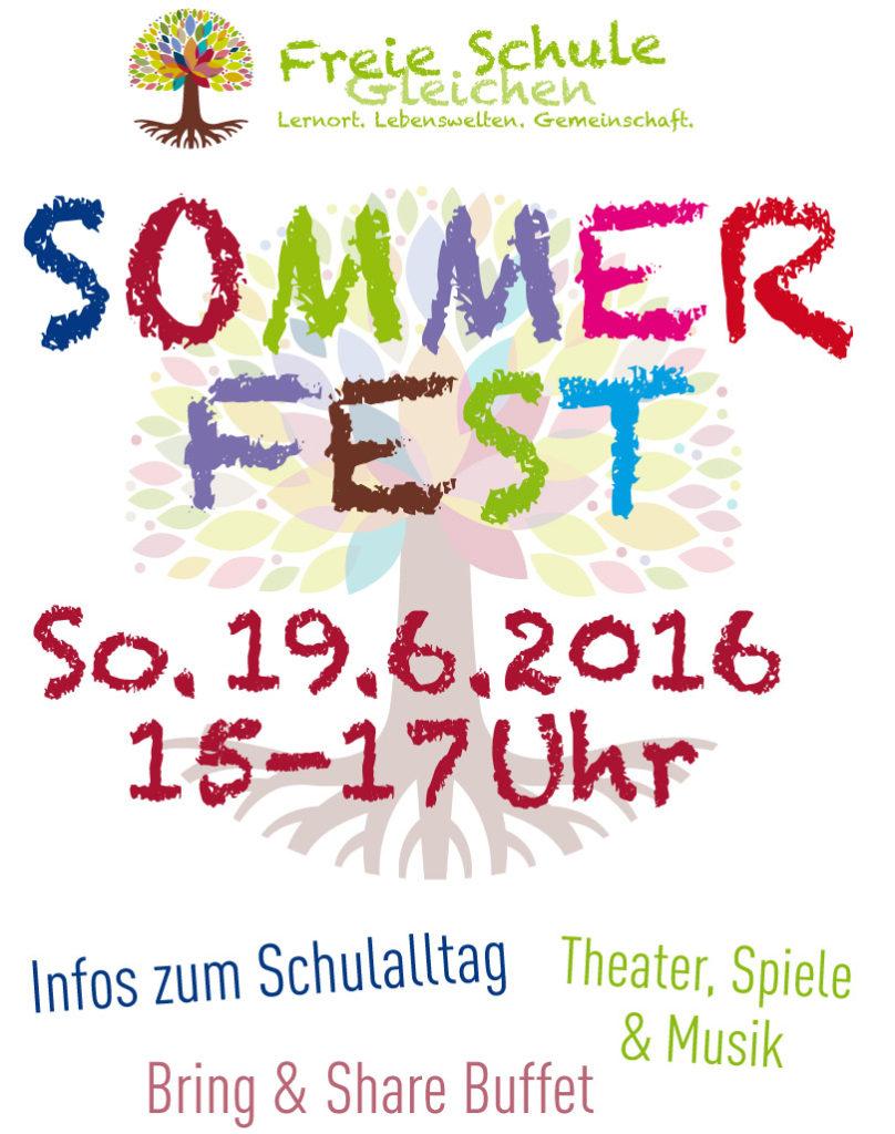 Sommerfest2016 Freie Schule Gleichen
